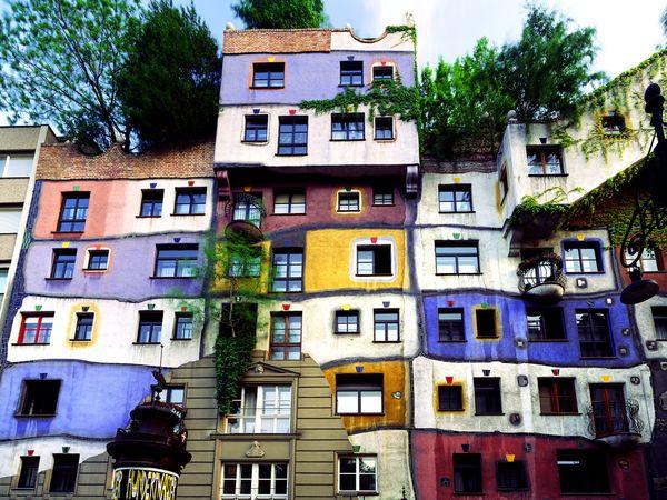 Hundertwasser Haus, Vienna, Austria